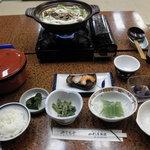 山形屋旅館 - 料理写真:ある日の夕食:いも煮