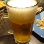 黒龍 - ドリンク写真:まずは生ビー!グビッと美味い♪