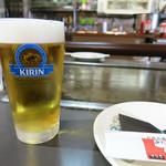 あじくらや - 生ビール 小 400円