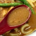 55782988 - なかなか美味しいカレースープ