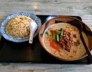 中國菜劉 - 坦々麺チャーハンセット