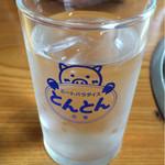 とんとん農場レストラン - お水
