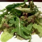 イベリコバル・ディッチャ - サラダです