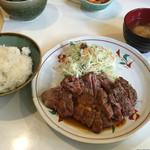 KOUSHI 程々 - ランチ、牛ロース炭焼