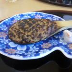 蕎麦 ひびき庵 - そば焼きみそ