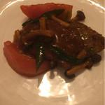 55788892 - 牛肉とトマトの炒め