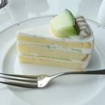 鳥羽国際ホテル カフェ&ラウンジ - メロン・ショートケーキ