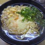 しんめいの駅前そば・うどん店 - 駅そば380円