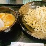 大熊製麺 - 醤油つけ麺+味玉