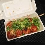 ジャンたこ - 料理写真:味噌ダレたこ焼き