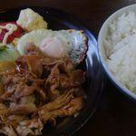 旅路食堂 - 生姜焼き定食