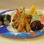一福寿司 - お子様ランチ864円。