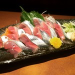 秋田料理 まさき - さんま刺身