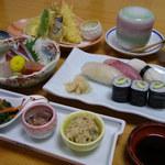 一福寿司 - 夜の選べるコース。2400コース。3200円コース。