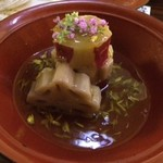 飯家 おかん - 蓮根とサツマイモ