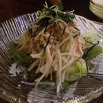飯家 おかん - じゃこと大根のサラダ