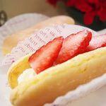 福菱 Kagerou Cafe - 季節限定 春の「いちご生かげろう」