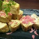 旬の海鮮 シーマーケット札幌 - 「桜海老の出汁巻き卵」 580円