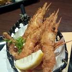 旬の海鮮 シーマーケット札幌 - 「羽幌産甘海老の唐揚げ」 580円
