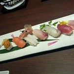 旬の海鮮 シーマーケット札幌 - 「握り寿司8貫」 1280円