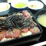 日本料理 岩戸 - まぐろ漬け丼