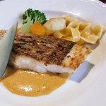 スパイスガーデン - マダイのソテーアメリケーヌソース