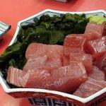 ラーメンショップ - マグロブツ300円