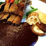 ライバック - 鯨カツカレー&野菜ゴロゴロトッピング ¥1,210