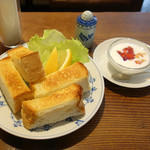 カフェ・デ・マエストロ - バタートースト
