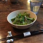genten - ランチのサラダ
