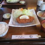 かつ喜 - 金華豚ロースカツ定食