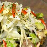 和心 かみや - 鴨とアボカドの焙煎ごまサラダ