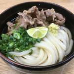 飯野屋 - 肉ぶっかけ冷(*´д`*)420円
