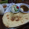カレーライスの印度屋 - 料理写真:ナンとサラダセット