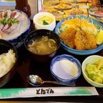 和食レストランとんでん - いわし御膳(1380円税)です。