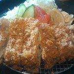 北の味紀行と地酒 北海道 後楽園メトロ・エム店 - とんかつ膳(1280円)