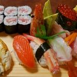 寿司処やぐら - 料理写真:白梅+サーモン