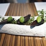 レストラン ローブ -  野生の ハーブのアイス