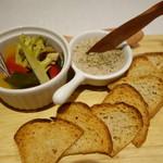Maison Michel - 豚肉のリエットと夏野菜のピクルス