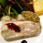 Maison Michel - フォアグラと豚すね肉のテリーヌ