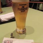 新中国家庭料理 浅野 - 生ビール