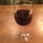 Tempters Pizza+Bar - グラス赤ワイン