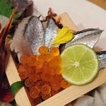 55820133 - 鮮魚刺身7種以上盛り②