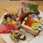 55820134 - 鮮魚刺身7種以上盛り1980円