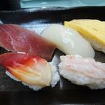 吉野鮨 - 寿司5貫