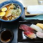 吉野鮨 - 寿司・ラーメンセット