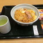 なか卯 - 親子丼並¥490