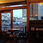 チャオビーノ - 店内からの眺望