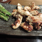 しんぱち食堂 - 大山鶏塩麹漬け炭火焼