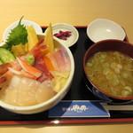 居酒屋 典典 - 特選 海鮮丼1580円